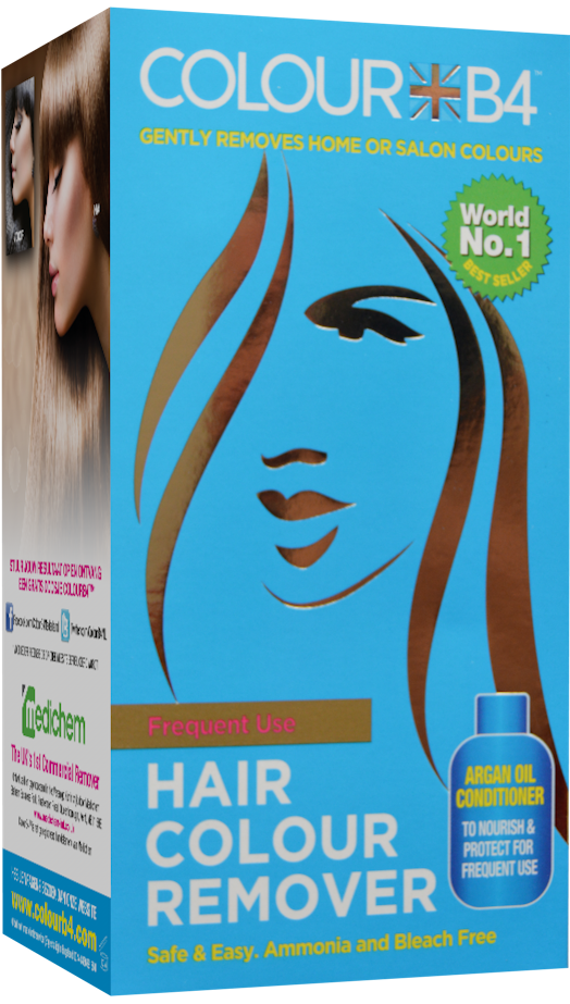 Frequent Use Colourb4 Hair Colour Remover